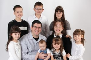 The Johnston Family Missionaries to Toronto, Canada
